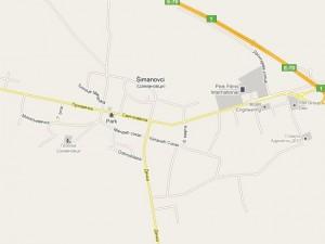 Мапа Шимановаца