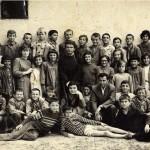 1965. Ђаци са наставницима Бајом, Милецком и Круном