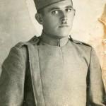 Војник бивше војске Краљевине Југославије – Живановић Ђорђе Змај. Фотографија 1933. године.