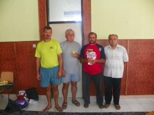 На снимку: Победничка екипа Шимановаца 1