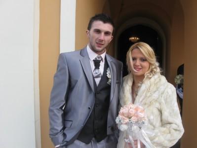 venčanje Svetislava Kneževića i Aleksandre Stanisavljević