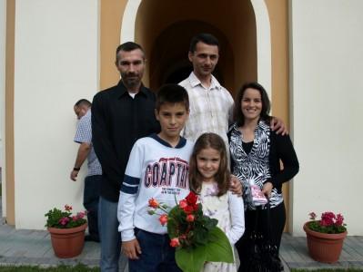 крштење Ане Јовановић