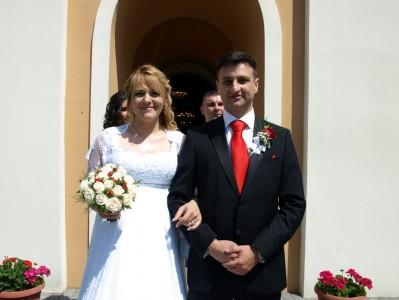 венчање Бојана и Надице Станковић