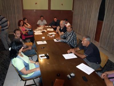 Одражана Прва седница новог Савета МЗ Шимановци