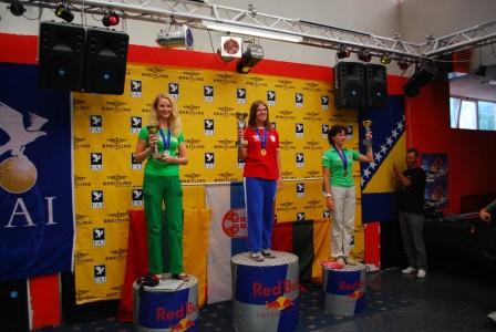 Милица Маринковић из Шимановаца  светски првак у параглајдингу