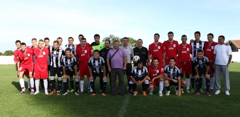Хуманитарна пријатељска утакмица Хајдук 1932 – Партизан 0:4 (0:1)