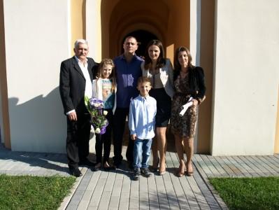 венчање и крштење Вучинић