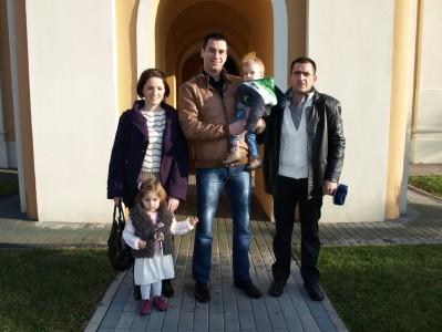 крштење Лазара Радивојевића