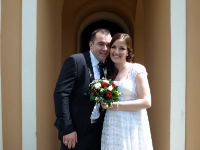 венчање Милована и Наташе Крстовић