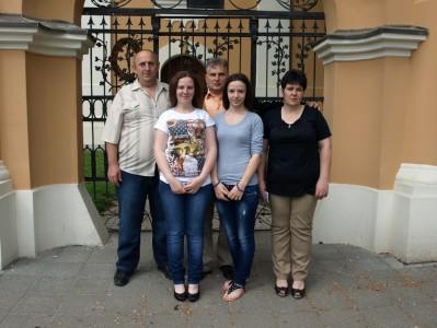 крштење Гордане, Тамаре и Јоване Живковић