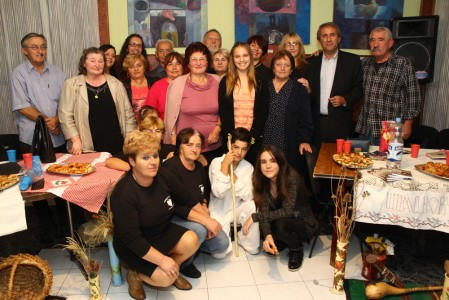 Одржано заједничко вече културе у Шимановцима у суботу 18.10.2014.
