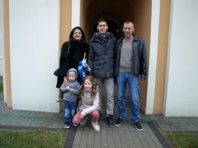 крштење Луке Ивановића