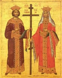 Свети цар Константин и царица Јелена 03. јуни