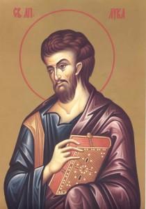 Свети Апостол и Јеванђелист Лука - 31. октобар