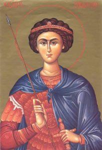 Свети великомученик Димитрије - Митровдан 08. новембар