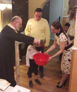 Krštenje Živojnov 20. januar 2020. godina