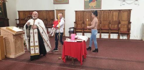 Krštenje Stojanović 16. januar 2020. godina