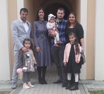 24. октобар 2020. година - крштење Лакетић