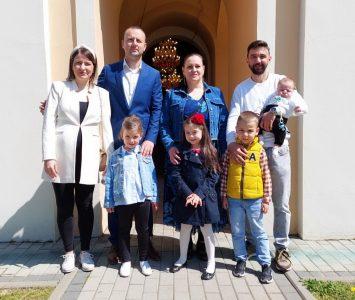 25. април. 2021. година - крштење Бабић
