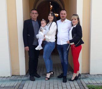 08. мај 2021. година - крштење Миљуш