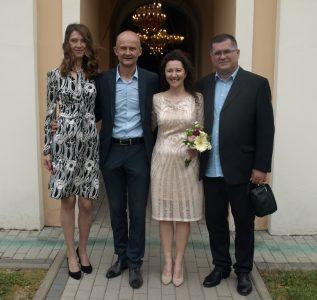 06. јуни 2021. година - крштење и венчање Антонијевић