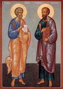Свети апостоли Петар и Павле - Петровдан 12. јули