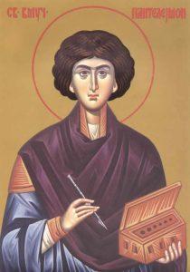 Свети Великомученик Пантелејмон  9. августа